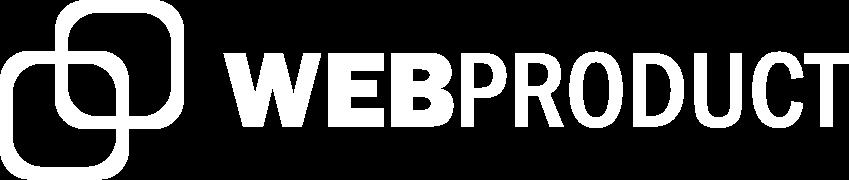 logo webproduct blanc