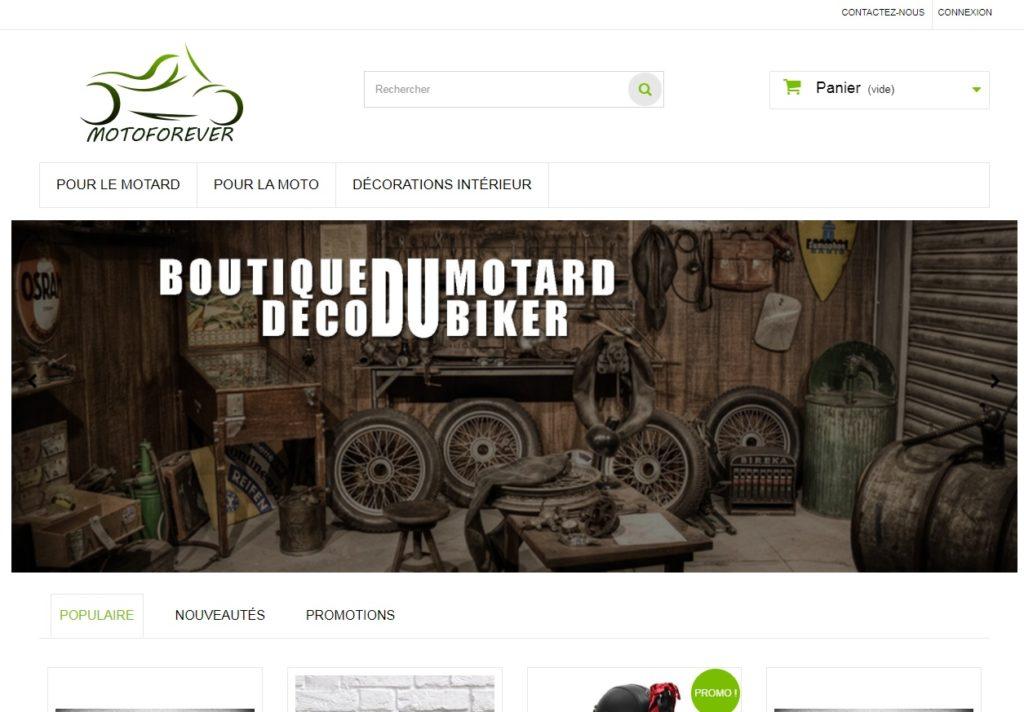 Motoforever - boutique décoration moto
