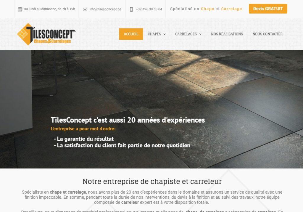 TilesConcept - entreprise de carrelages et chapes