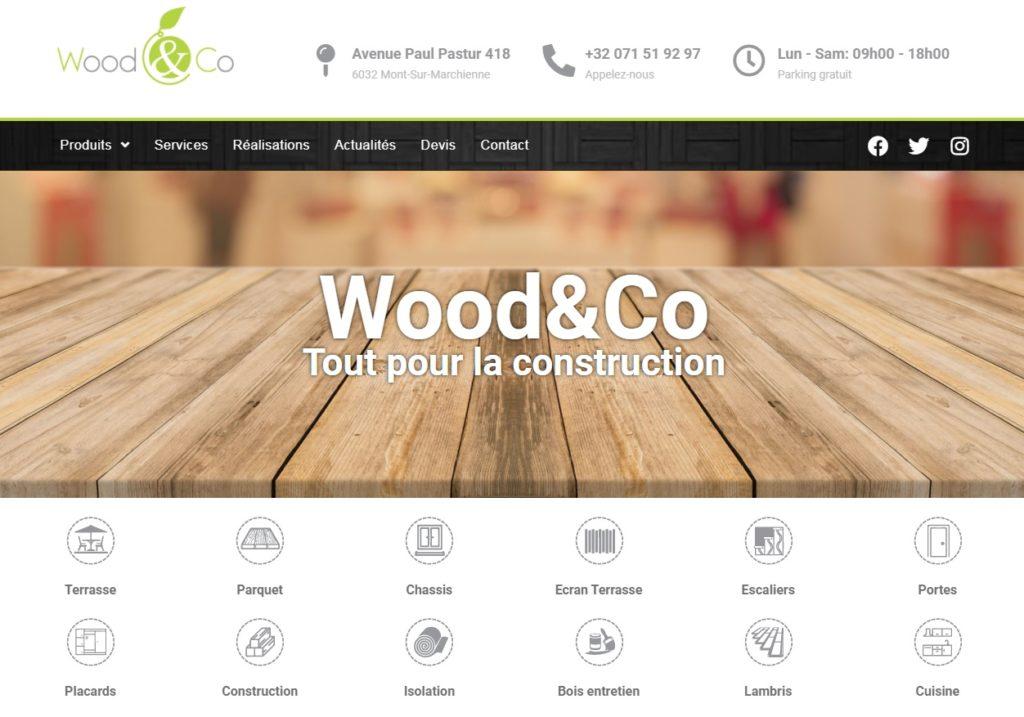 Wood & co - tout pour la construction